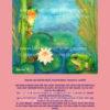 Frösche im Seerosenteich rosa