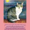Katze auf dem Dach rosa