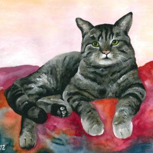 Auftragsmalerei Tierportrait